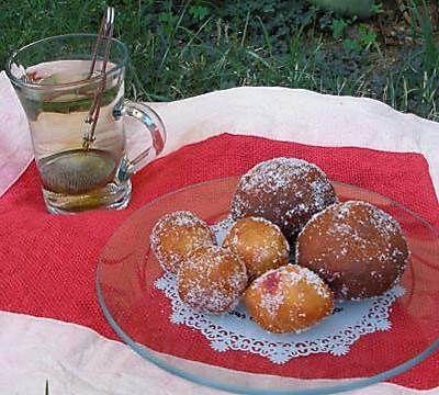 Berlinas o donuts rellenos hechos en la thermomix. #recetas #thermomix #postres