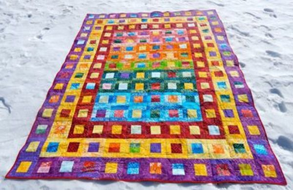 97 Best Jeweltone Quilts Images On Pinterest Bedspread