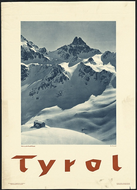 Tyrol. Motiv aus der Ferwall-Gruppe by Boston Public Library, via Flickr