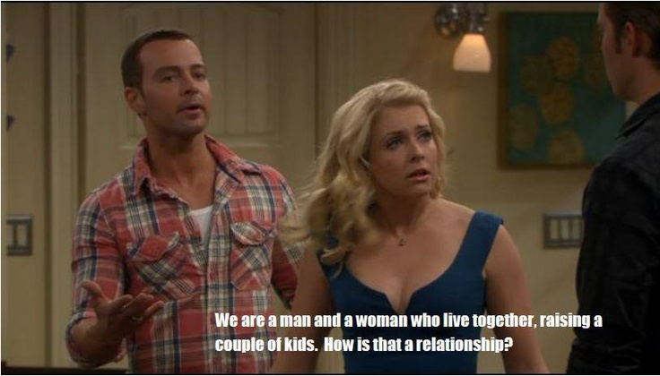 Melissa & Joey - they're both just so cute! Love this show!