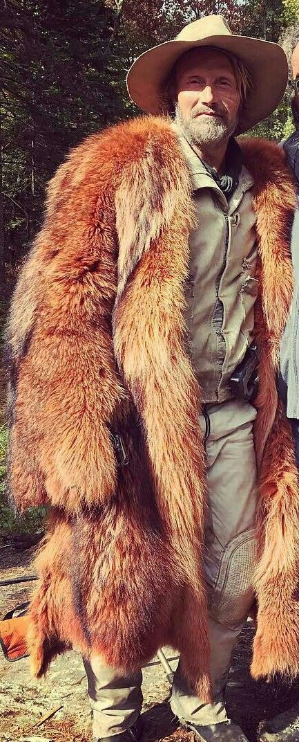 Um...this fur coat is something very serious he looks like safaree from love and hip hop
