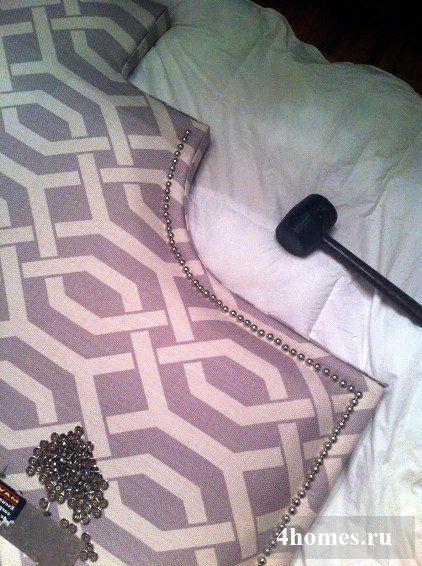 Изголовье кровати своими руками