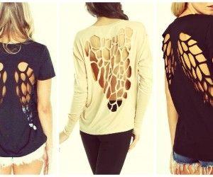 Sırtı Açık Tişört Kombinleri #tişörtkombineleri #yenikombineler http://www.enyeniabiyemodelleri.com/sirti-acik-tisort-kombinleri/