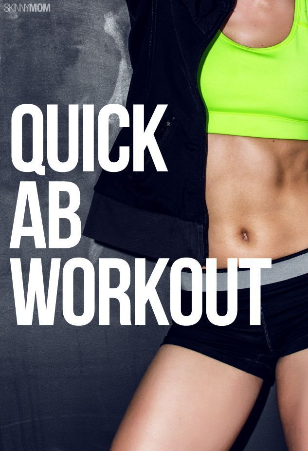 Bust the Bulge Ab Workout