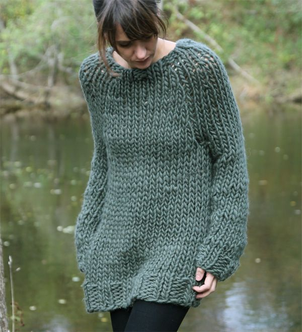 Chunky Knit Sweater Pattern Free : 318 best images about ? Circular Needles ? on Pinterest