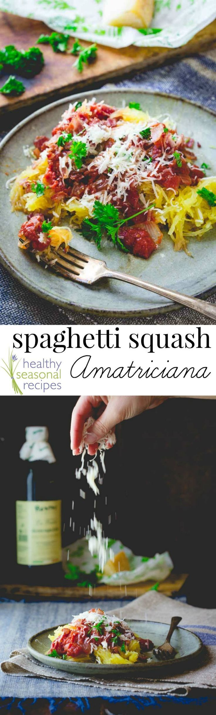 Blog post at Healthy Seasonal Recipes : Here is a 30 minute, primal friendly, low-carb version of Spaghetti Amatriciana, made with spaghetti squash instead of pasta and bacon inste[..]