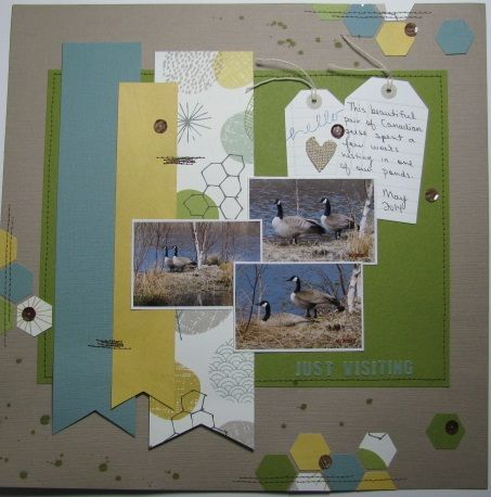 scrapbooking, layout, Crop and Create Delivered Kit Fall 2014, Page Maps, Scrap Our Stash