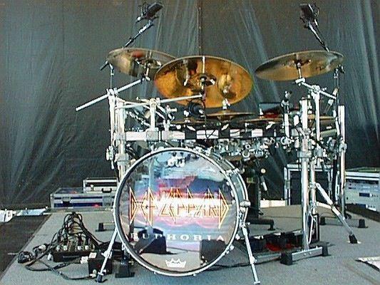 Rick Allen's Drum kit