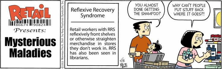 Always!  I've been brain-washed!  April 8, 2013 | Retail Comic