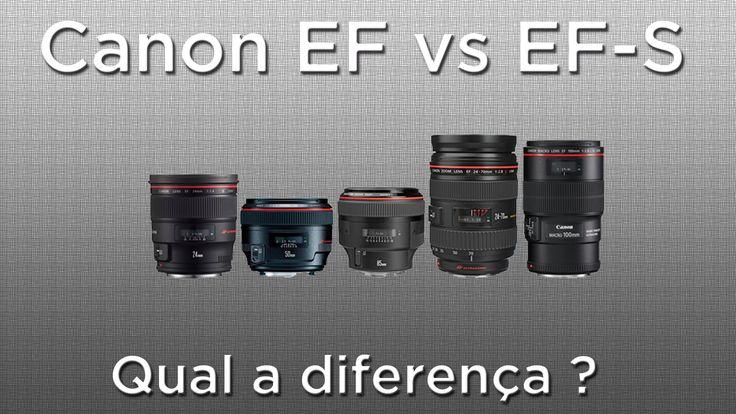 Neste vídeo, explico de forma simples (para iniciantes) qual a diferença entre uma lente Canon EF e uma lente Canon EF-S. Caso tenha alguma dúvida, pergunte ...