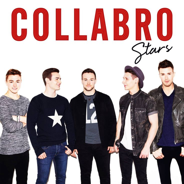 Artwork for Collabro's first album 'Stars'