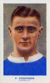 1939 R & J Hill Famous Footballers Series 1 #4 Percy Grosvenor Front
