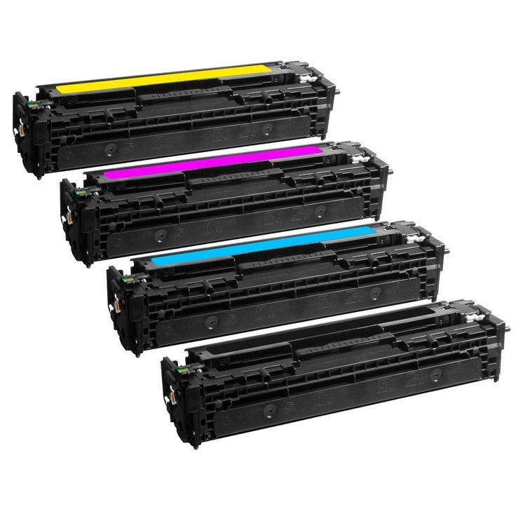 Toner HP 205A (CF530/ CF531/ CF532/ CF533A) pour imprimante HP Color LaserJet Pro MFP M181fw/180nw.