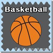 Free Basketball Preschool Unit