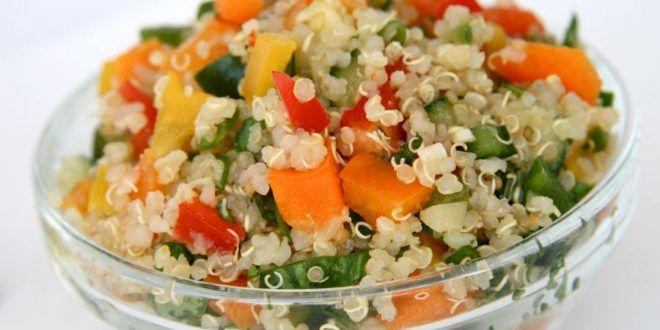 Come #cucinare la #Quinoa - #Ricette con la Quinoa facili e veloci. #mangiare