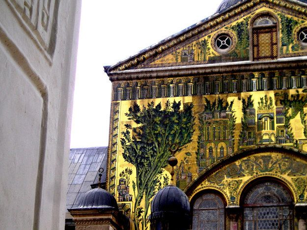 Umayyad Mosque Facade, Once A Church | Community Post: Let's All Appreciate How Beautiful Syria Is