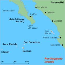 Revilla Gigedon saaret