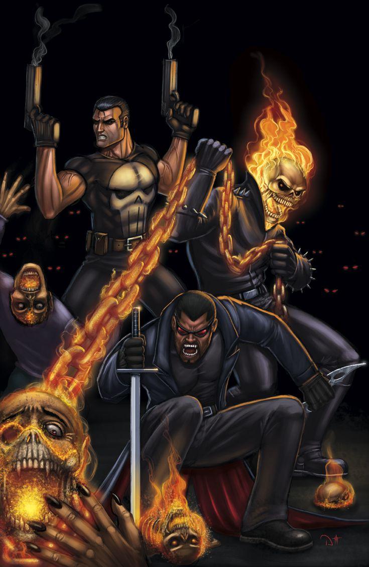 Marvel Knights by ~DAVID-OCAMPO on deviantART