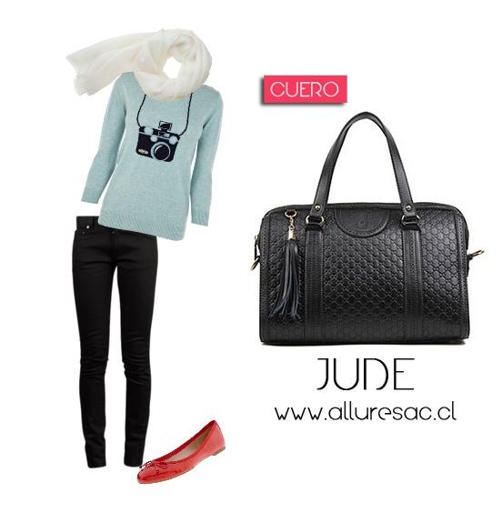 Jude cartera Cuero <3