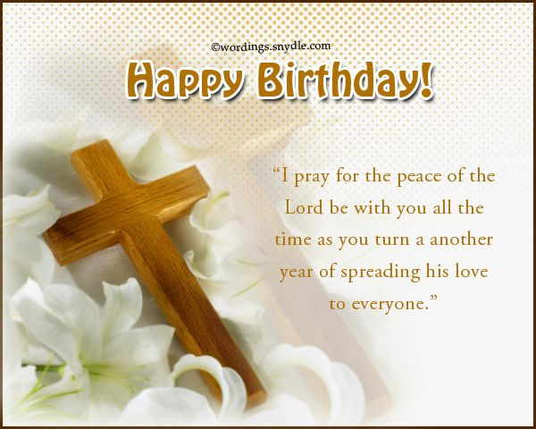 Christian Birthday Messages Wishes  Wordings and Messages