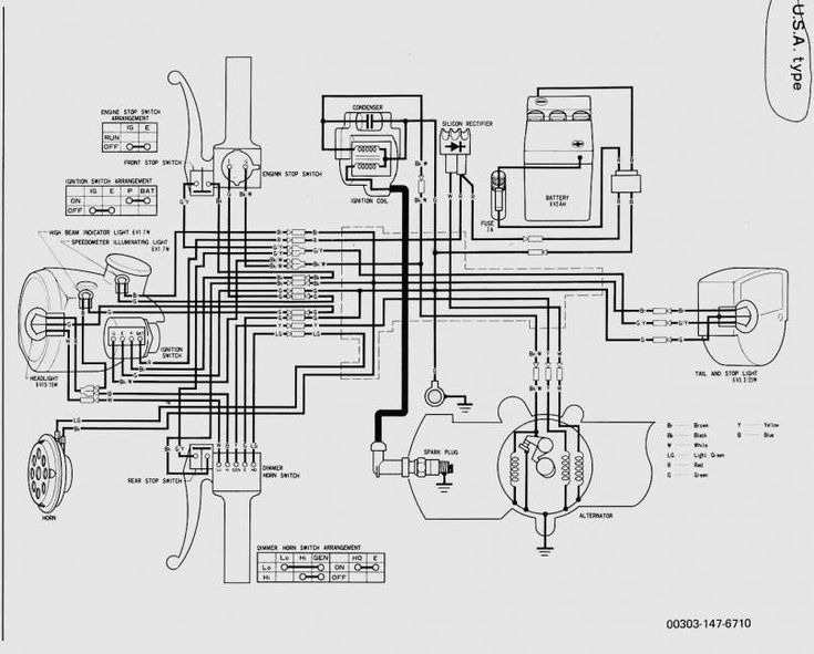 Chinese Electric Scooter Wiring Diagram and Volt Electric