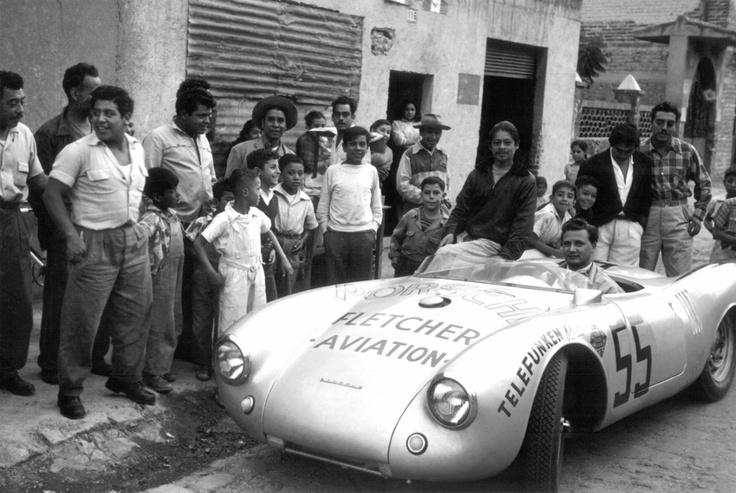 La Carrera Panamericana Mexican Road Race1950-55  Porsche 550 Spyder