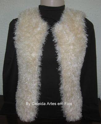 Celeida Ribeiro: Colete de tricô