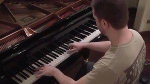 Hino Nacional Brasileiro - Piano - com letra