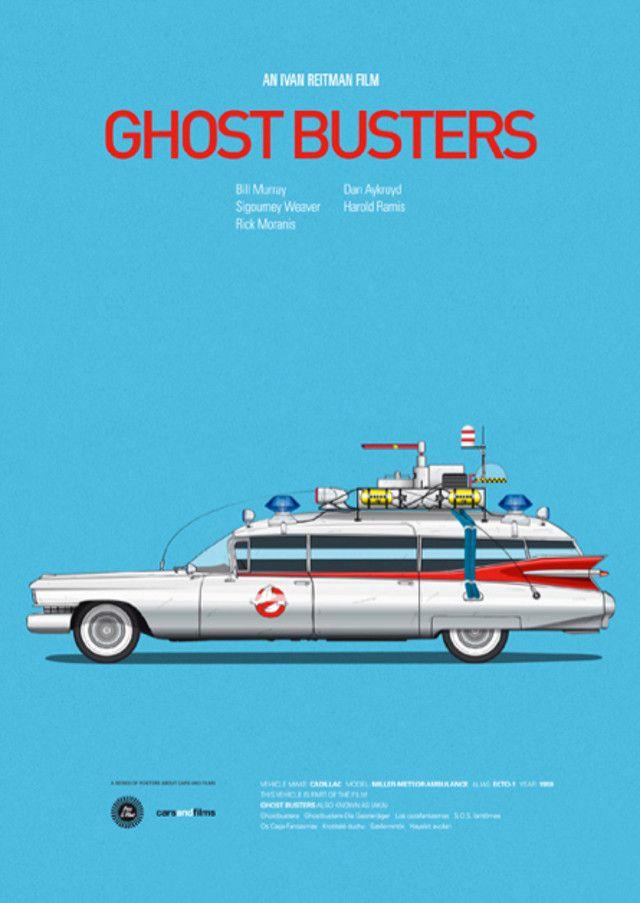Cartel alternativo para los Cazafantasmas / Ghostbusters #cine #film