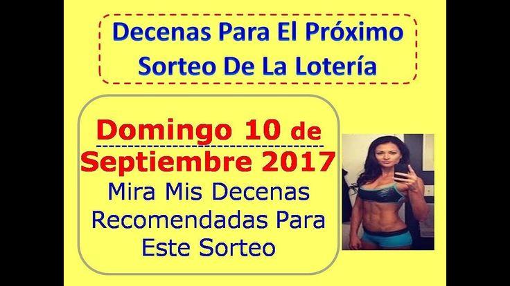 Piramide Suerte Decenas Sorteo Domingo 10 Septiembre 2017 Loteria Nacional Septiembre 10 Dominical