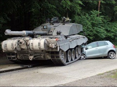 EXTREME Tanks vs Cars EPIC Video