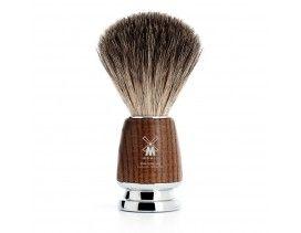 Brocha de afeitar Muhle Rytmo T fresno vaporizado