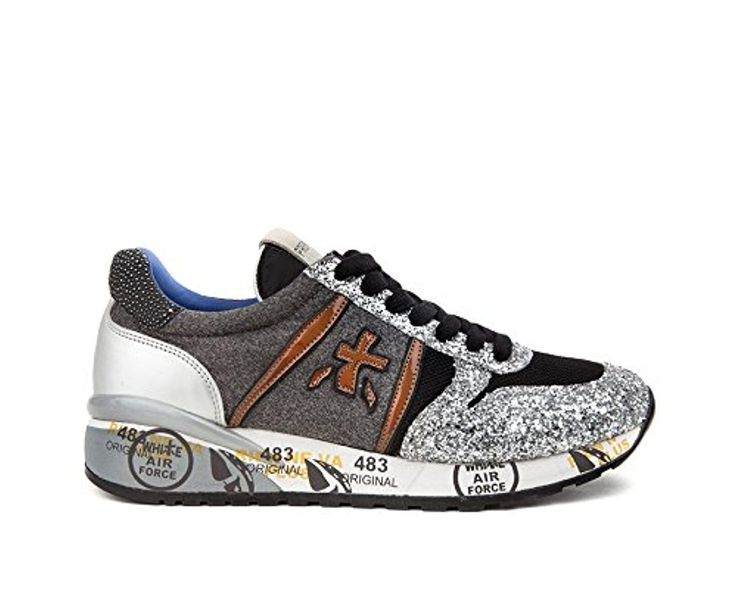 PREMIATA WOMEN'S DIANE1618 MULTICOLR SYNTHETIC FIBERS SNEAKERS -- Awesome products selected by Anna Churchill
