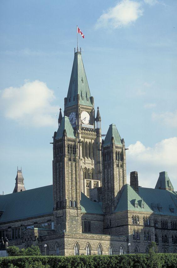 Parlement du Canada, à Ottawa