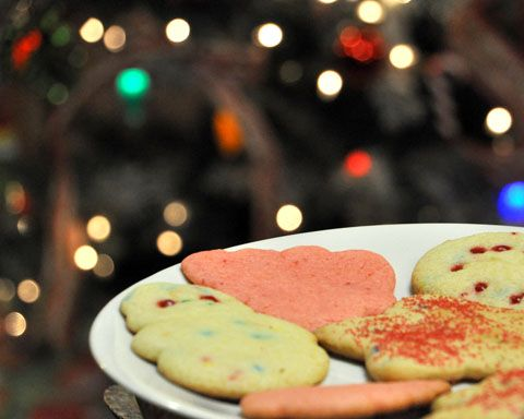 3 Christmas Cookie Recipes Using Cake Mixes - Goodness Gracious, so much easier!
