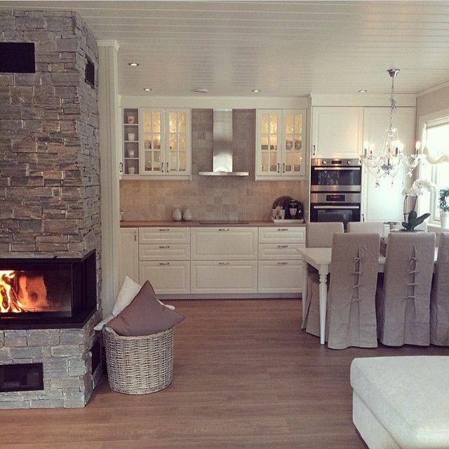 1000 ideen zu wohnzimmer mit offener k che auf pinterest offene raumaufteilung offenes. Black Bedroom Furniture Sets. Home Design Ideas