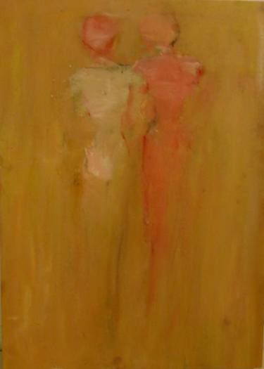 "Saatchi Art Artist Kjersti B Sveberg; Painting, ""Sister"" #art"