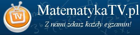 Telewizja internetowa MatematykaTV powstała z myślą aby pomóc wszystkim tym, którzy mają problemy ze zrozumieniem matematyki, nie lubią matematyki ale muszą się jej nauczyć.