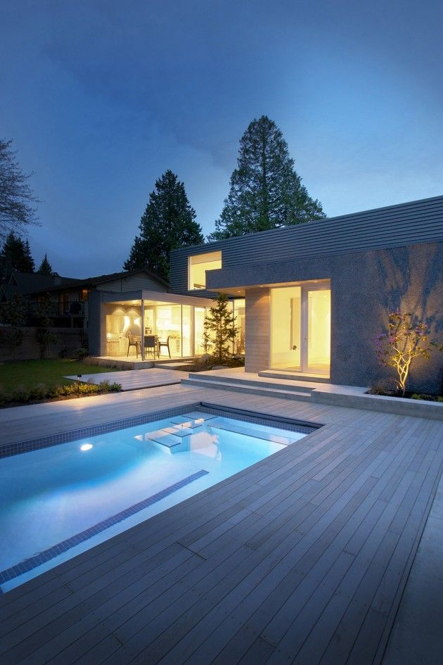 Ocean Park House in Vancouver, Canada by Campos Leckie Studio
