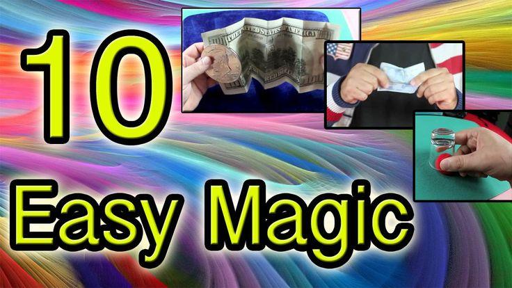 10 Easy Magic tricks Revealed Tutorial
