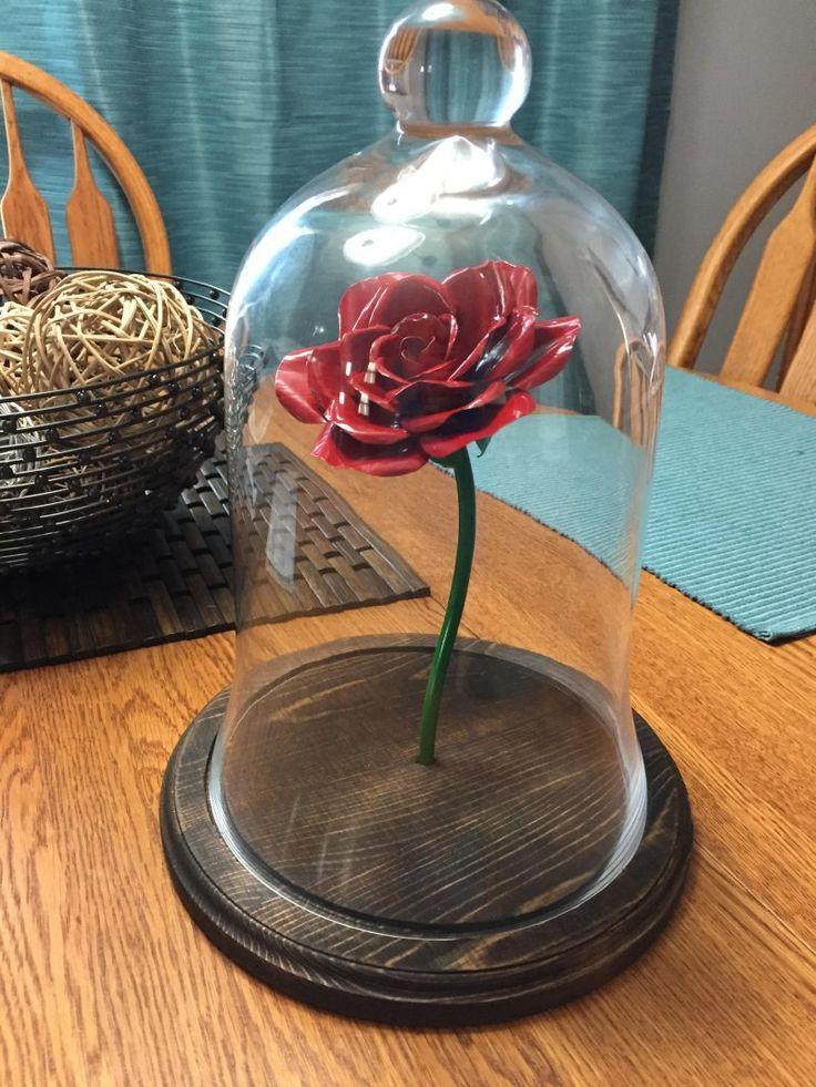 ein ewiges Geschenk zum Valentinstag: Verzauberte Rose basteln: Anleitung