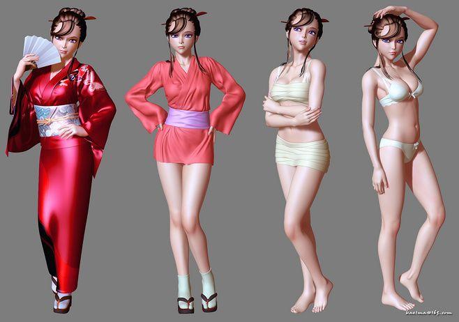kazima的原创作品展示-3D作品-微...