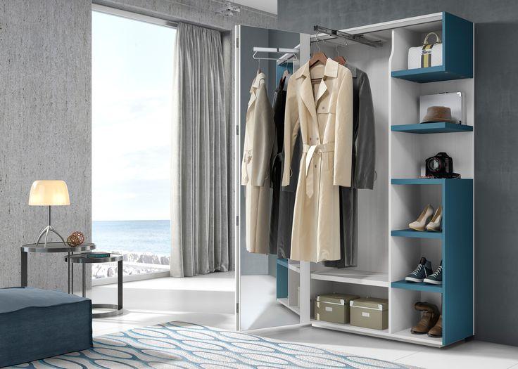 los nuevos armarios recibidor de closet dos estn concebidos para guardar las chaquetas el calzado y los del da a da nada ms llegu