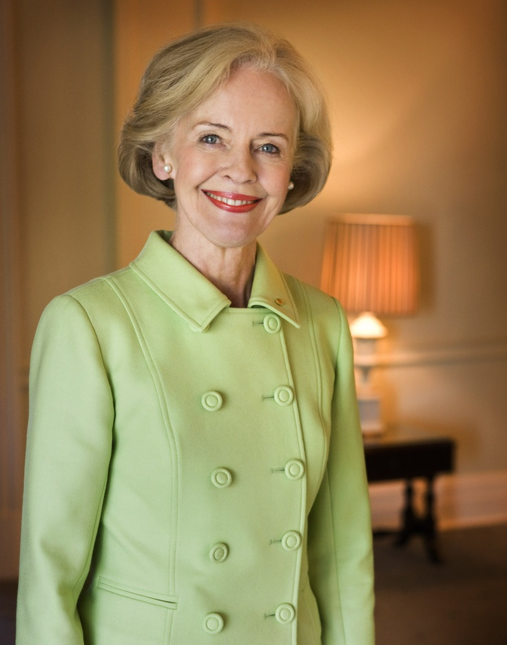 Outgoing Govenor General of Australia, Dame Quentin Bryce. Smart, educated, well spoken and elegant - inspirational!