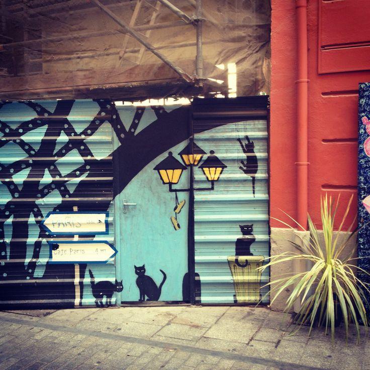 Valencia, street art. Graffiti