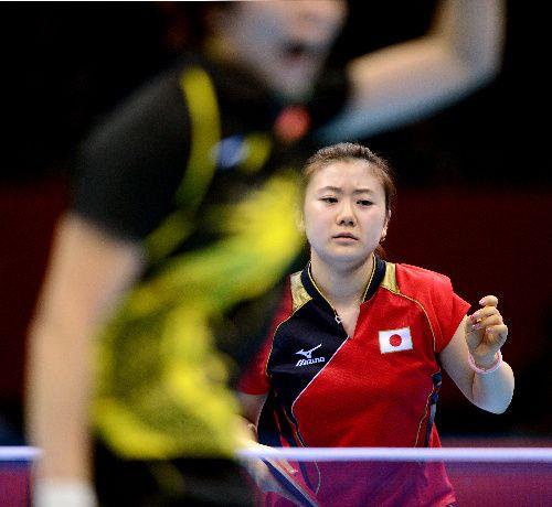 卓球日本女子、銀メダル 決勝で中国にストレート負け 卓球日本女子、銀メダル 決勝で中国にストレート負け