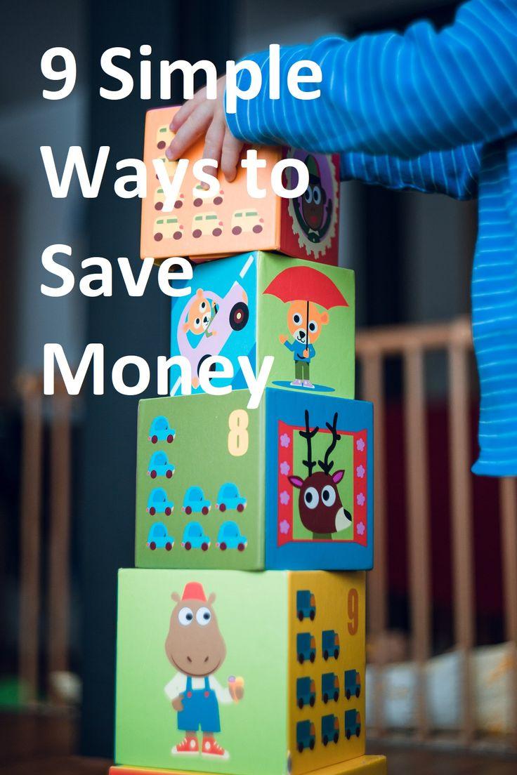 9 simple ways to save money on a daily basis. #personalfinance #saving