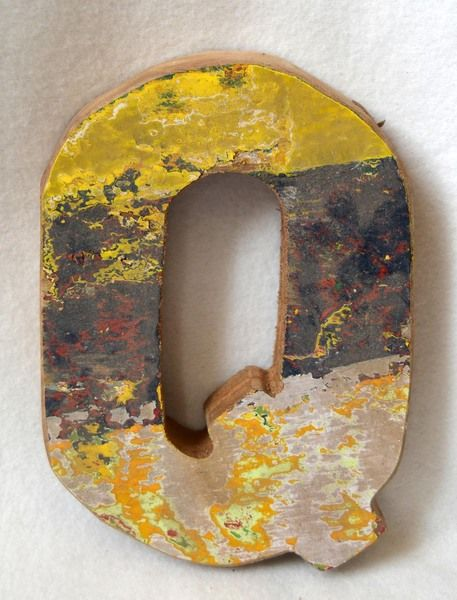 Buchstaben & Schriftzüge - One World Holzbuchstaben - Deko Buchstaben - ein Designerstück von kartique bei DaWanda