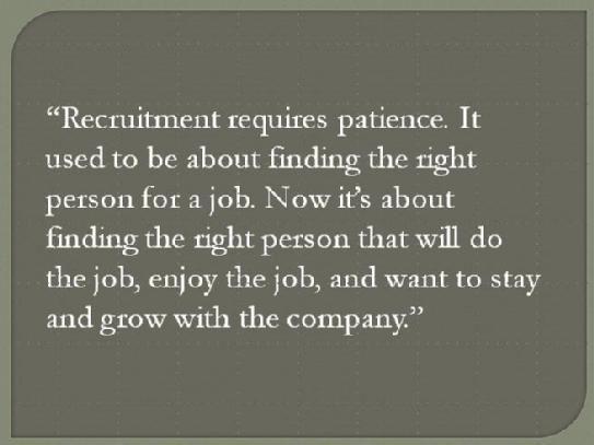 recruitment quotes / recruiting