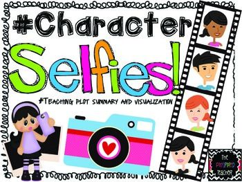 "#FREEBIE BY THE PINSPIRED TEACHER Character Selfies! Do your students have a cell phone? If they do, chances are they take ""selfies"" (photos of themselves) all the time. Turn this favorite pastime into an activity that will strengthen their comprehension skills! Not to mention, you will be one cool teacher for these 21st century kids!   Examples of when to take character selfies: Guided reading Literature circles Independent reading response Response to a class read aloud"